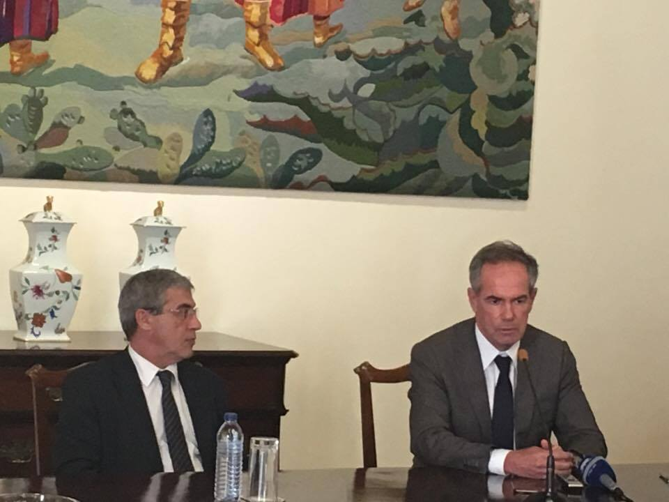 Sérgio Marques celebra Protocolo de Cooperação Técnica no Domínio da Engenharia