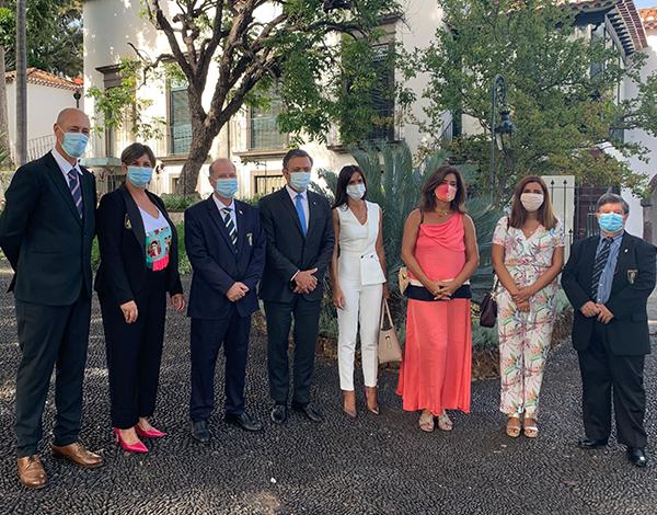 Vice-presidente nas comemorações do 50.º aniversário da Associação Barmen da Madeira