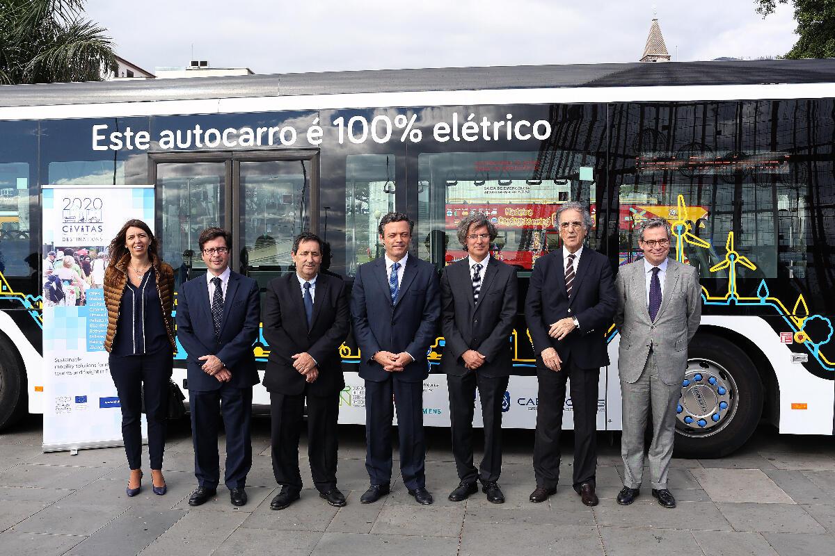 Governo Regional quer veículos elétricos nos transportes públicos