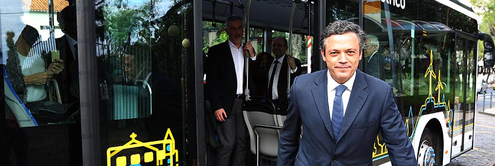 """""""A Madeira é a única região do país que cresce há mais de 5 anos, resultado da aplicação de políticas responsáveis e de incentivos ao crescimento económico e à atração de investimento d"""