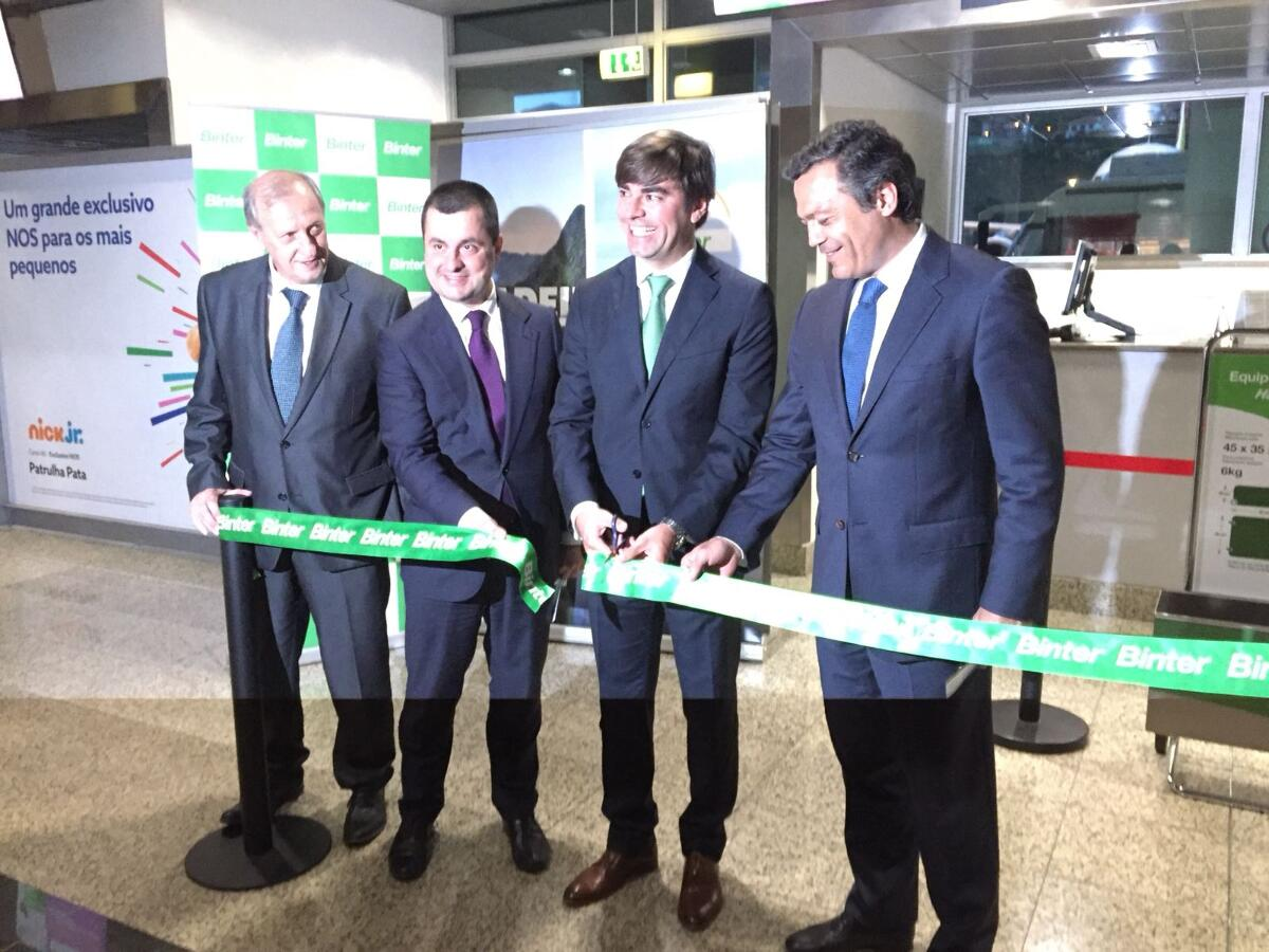 Binter realiza voo inaugural entre a Madeira e o Porto Santo