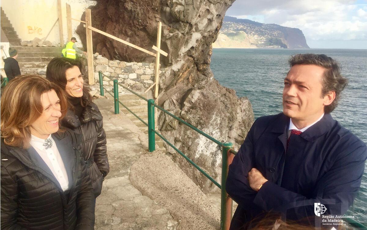 Obra do Governo Regional levanta interdição parcial ao cais da Ponta do Sol