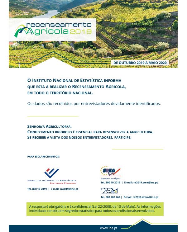 Recenseamento Agrícola 2020