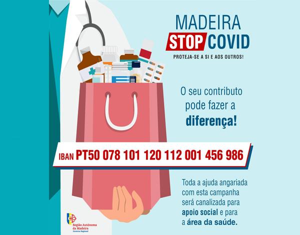"""Governo Regional lança campanha: """"MADEIRA – STOP COVID"""""""