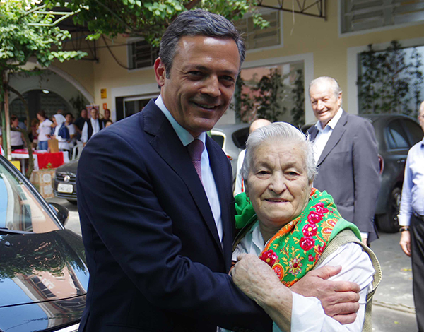 Pedro Calado em visita oficial a São Paulo