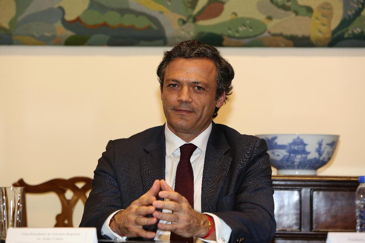 Vice-Presidente reúne em Lisboa com Registo Internacional de Navios e novo Hospital na agenda
