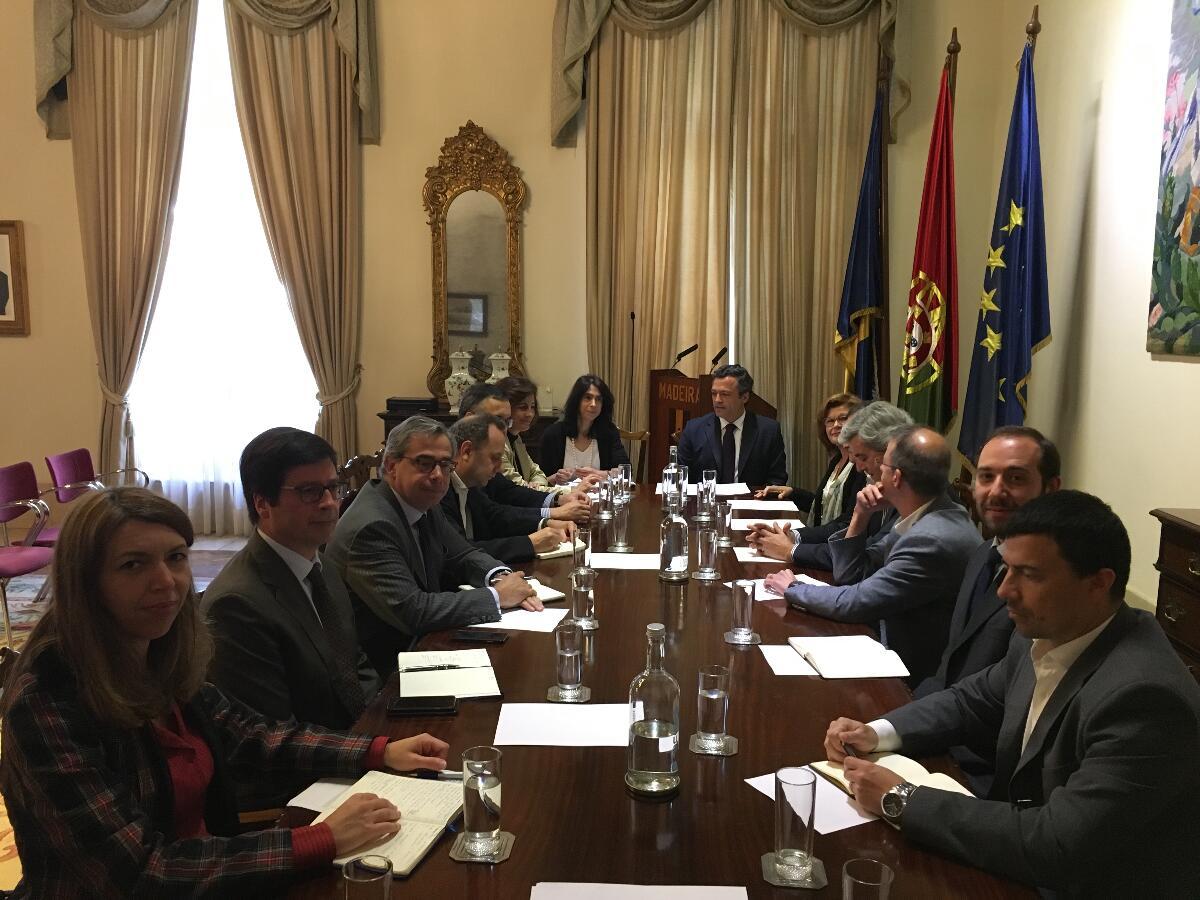 Vice-Presidente reúne-se com mesa de transportes da ACIF