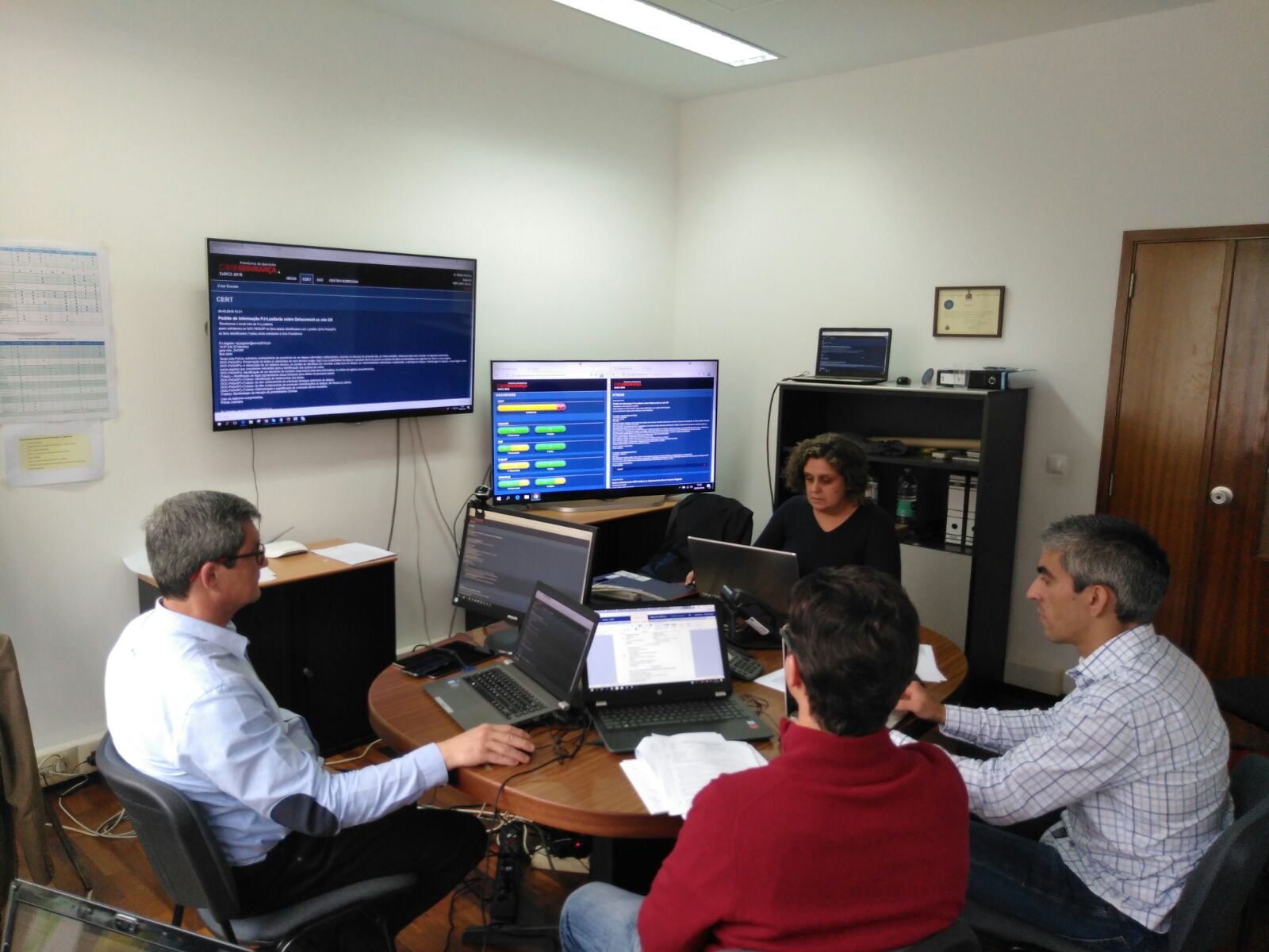 Região participa em exercício de cibersegurança