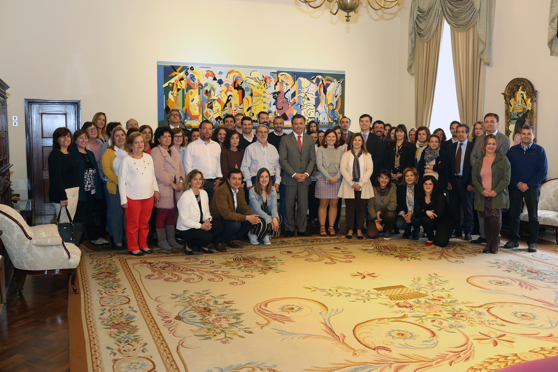 Cerimónia de homenagem a Rogério Monteiro