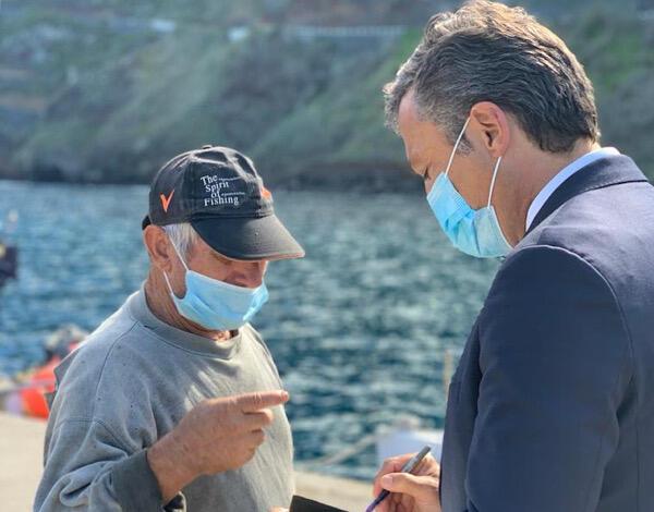Intervenção no cais do Porto Moniz melhora condições de segurança  das embarcações marítimo-turísticas