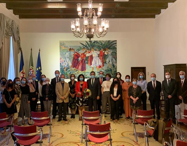 Homenagem à ex-chefe do Serviço de Finanças do Funchal
