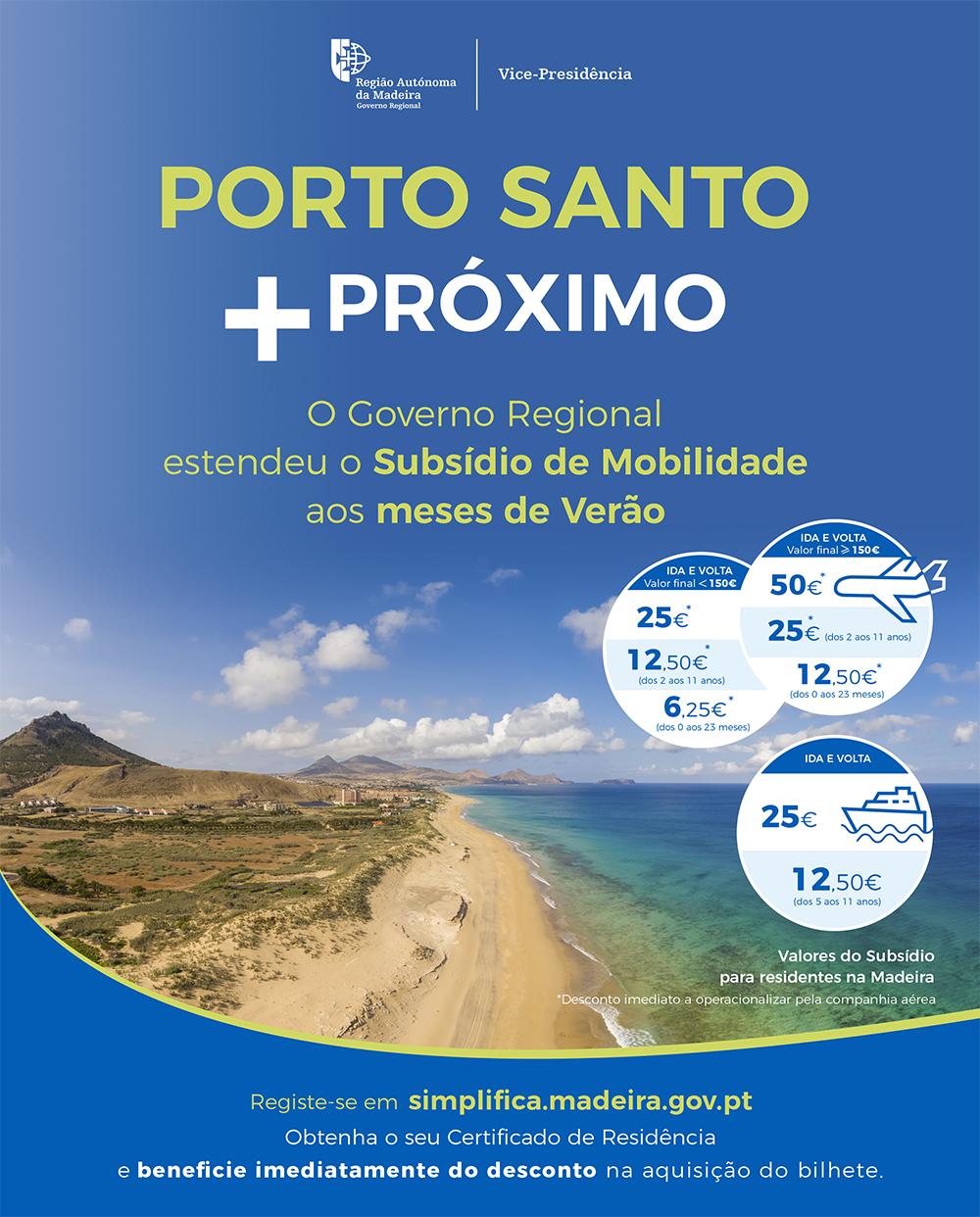 Porto Santo + próximo