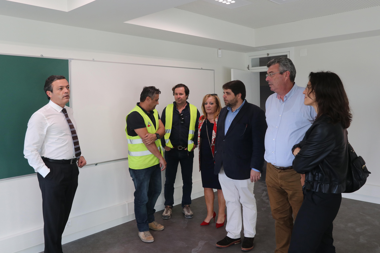Obra na Escola Básica e Secundária do Porto Santo concluída em 2019