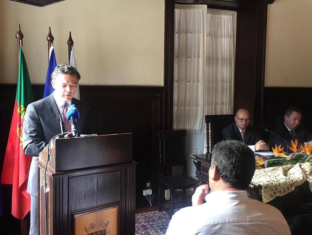 Vice-Presidente garante diálogo e cooperação com todas as autarquias regionais