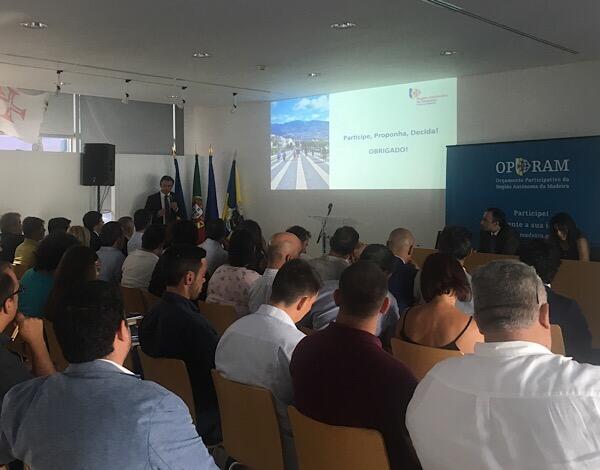 Vice-presidente desafia madeirenses a apresentarem propostas ao Orçamento Participativo