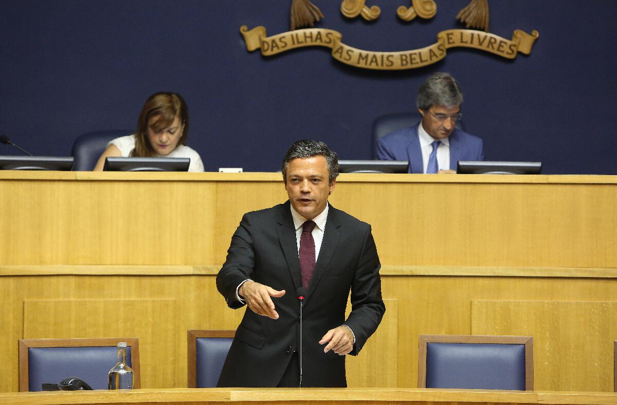 Retificativo aprovado por maioria na Assembleia Legislativa da Madeira