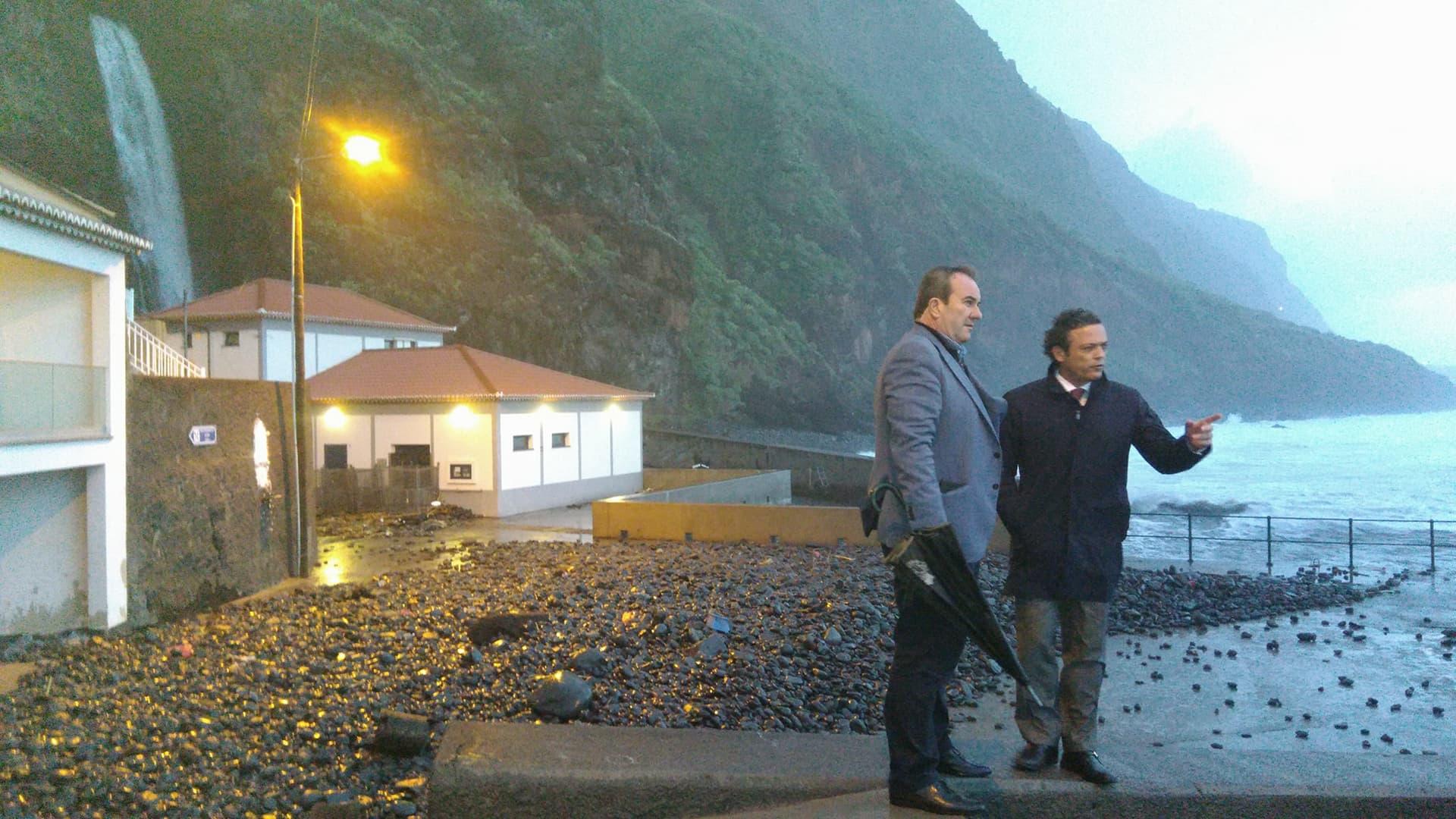 Governo prepara intervenção para depois do temporal