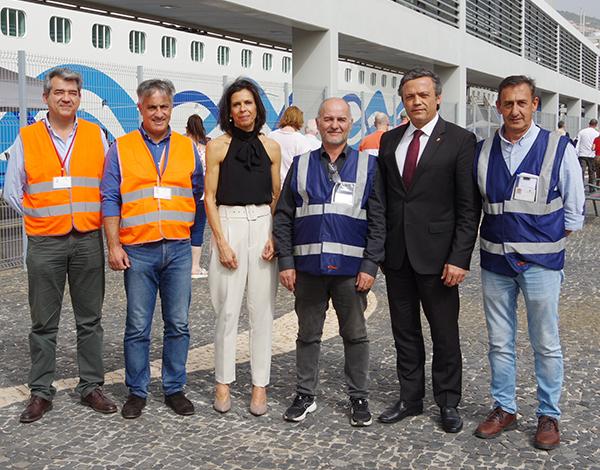 """Porto do Funchal está à altura para operações de """"turnaround"""""""