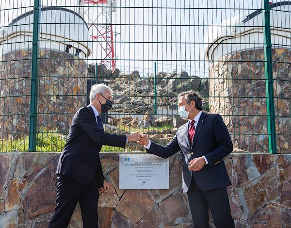 Site de Observação Ótica do Pico do Areeiro inaugurado
