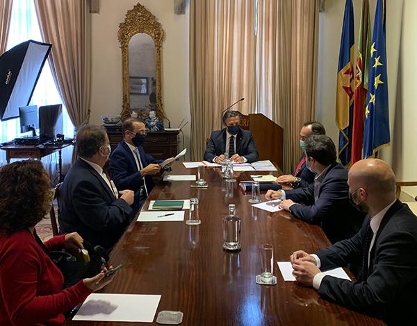 Orçamento Suplementar explicado aos partidos com assento parlamentar na Assembleia Legislativa da Madeira