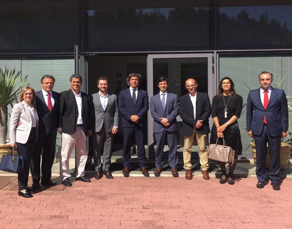 Vice-presidente visita Grupo AF Andrade