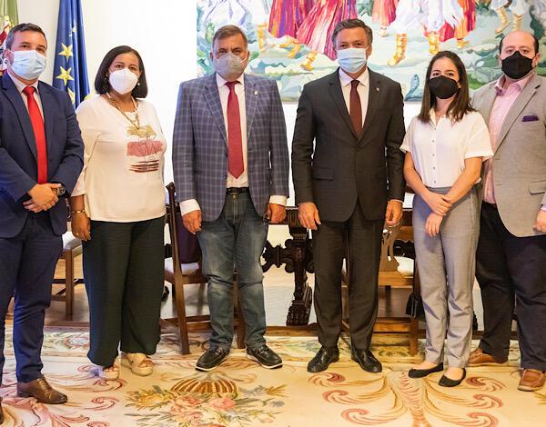 Vice-Presidente recebeu deputados da Venezuela