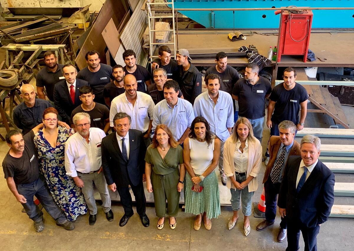 Vice-presidente visita empresa pioneira