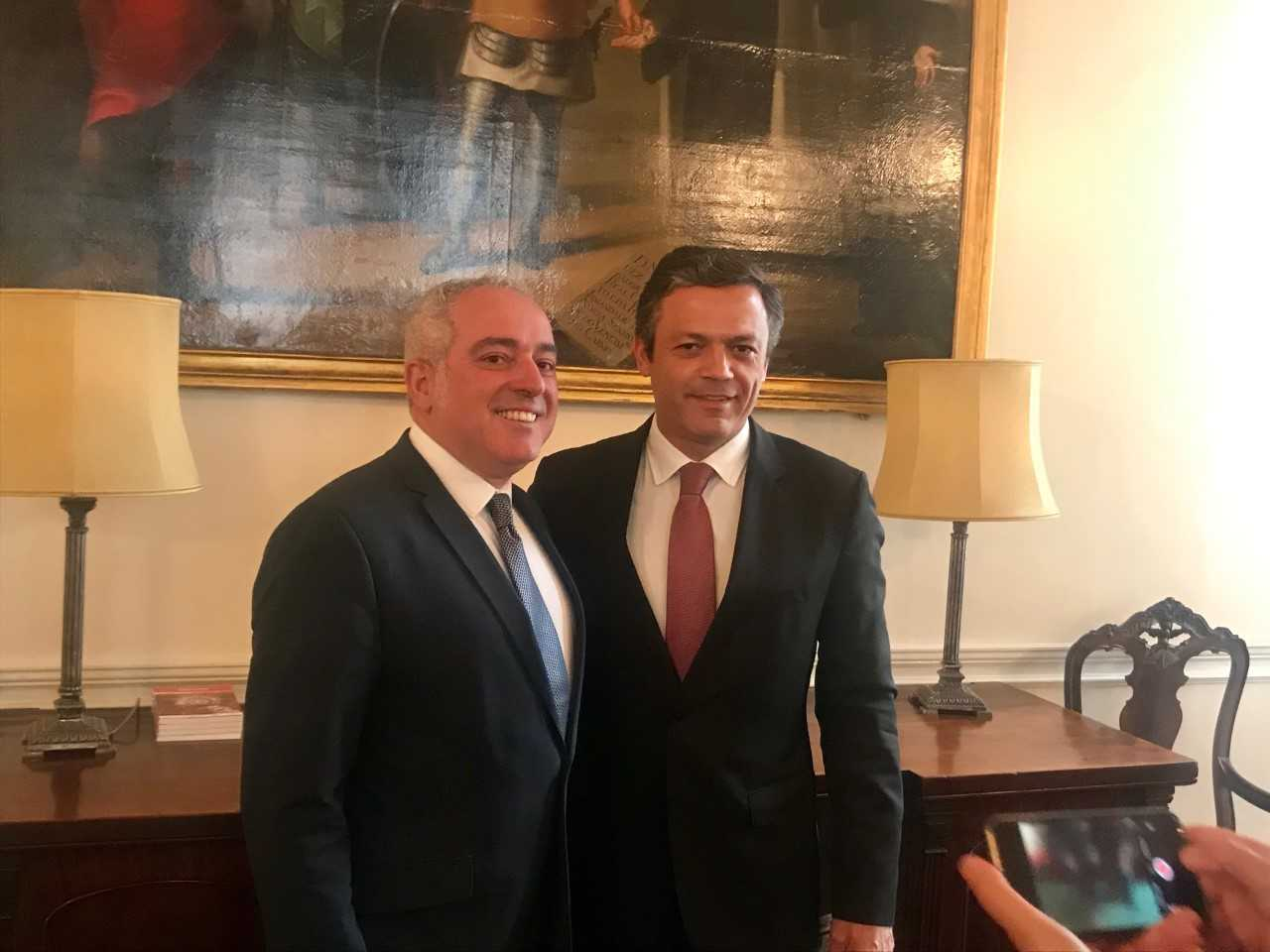 Vice-presidente do Governo Regional reuniu com a Cônsul Geral em Londres e com a AICEP