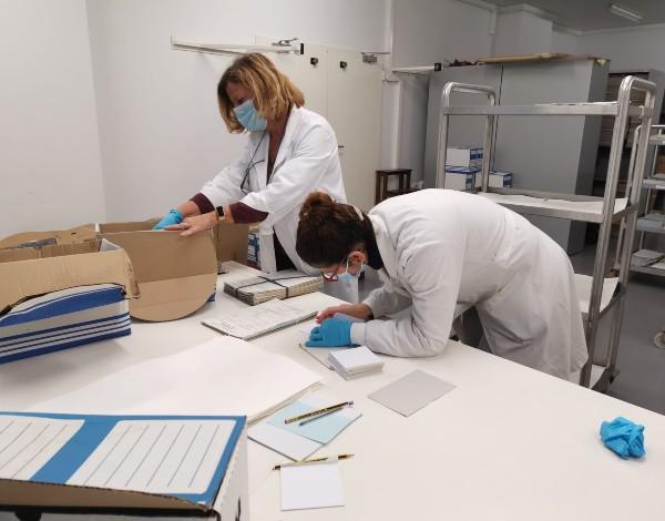 DRABM dá apoio técnico ao arquivo municipal de Santa Cruz