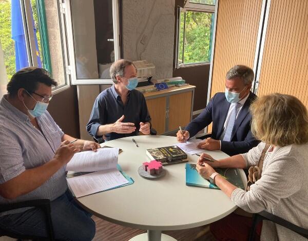 Governo Regional assinou protocolo com a associação Agência de Promoção da Cultura Atlântica