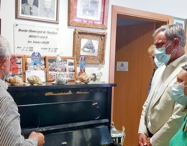 Governo Regional  reconhece mecenato à Banda Municipal de Machico