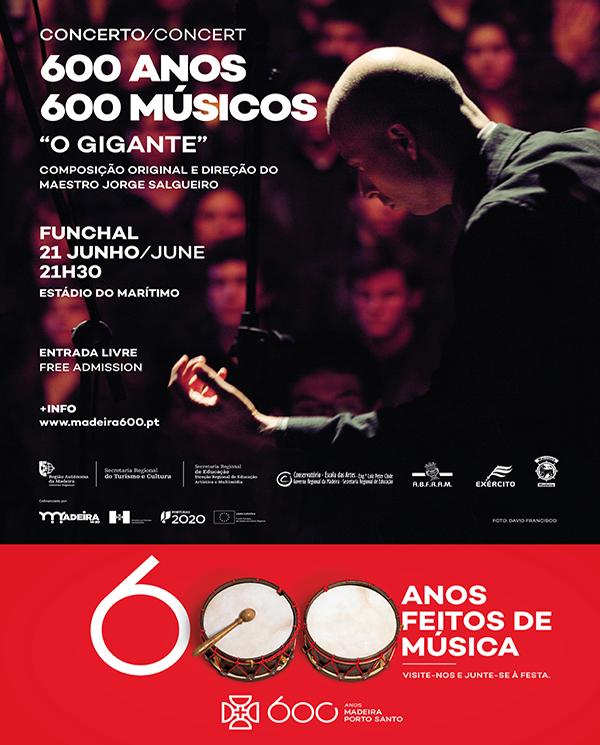 Concerto 600 Anos / 600 Músicos
