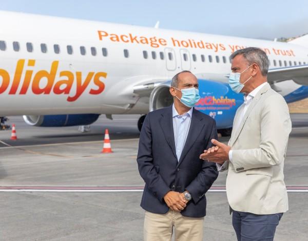 """""""Regresso da Jet2 à Madeira, revela que os ingleses acreditam na Região como destino seguro"""""""