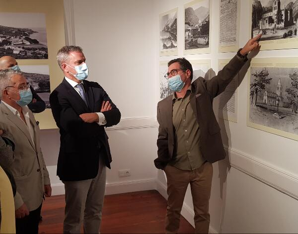 """Exposição """"Imagens e Memória do Concelho de Santa Cruz"""" apresentada na Quinta do Revoredo"""