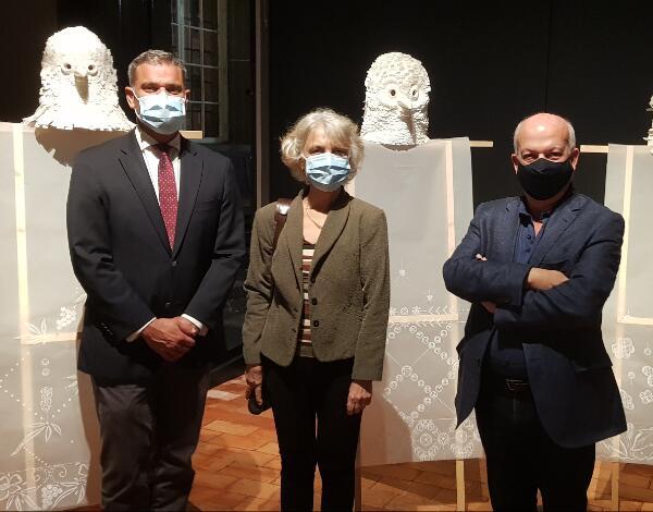 Eduardo Jesus elogia atitude inovadora da exposição no Museu de Arte Sacra