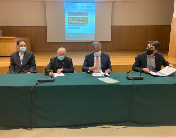 Secretaria Regional de Turismo e Cultura assina protocolo com a Diocese do Funchal