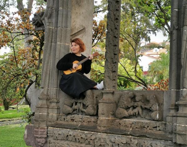 Museu Quinta das Cruzes pela voz de Diana Duarte nas Visitas Cantadas
