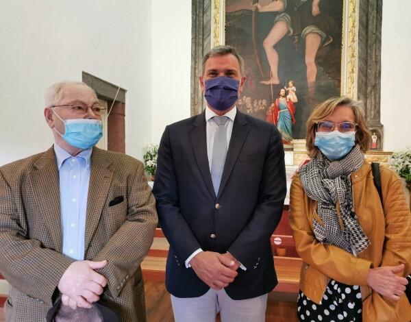 Secretário Regional de Turismo e Cultura visita Solar de São Cristóvão