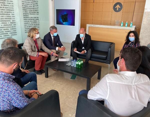 """Secretário Regional assina protocolo para a  2.ª edição da 'Cimeira Cultural do Atlântico"""""""