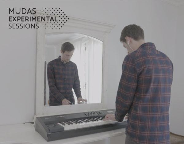Gonçalo Caboz e Pedro Temtem no  MUDAS.Experimental Sessions