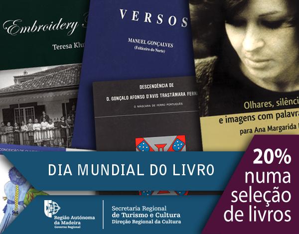 Dia Mundial do Livro assinalado pela Secretaria Regional de Turismo e Cultura