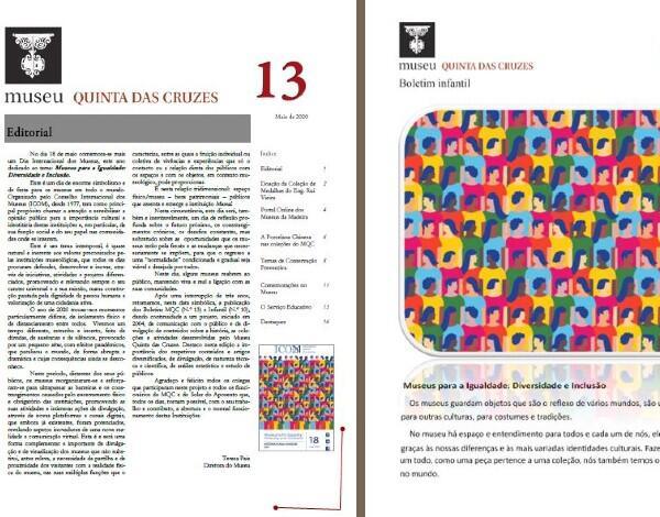 Lançamento Online Boletim Museu Quinta das Cruzes