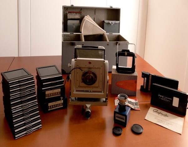 Museu de Fotografia da Madeira recebe doação de máquina fotográfica de Gino  Romoli