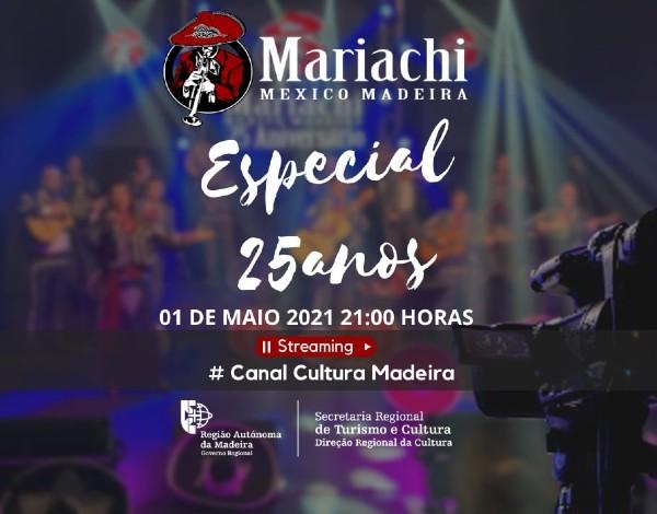 Secretaria Regional de Turismo e Cultura apoia concerto do grupo Mariachi