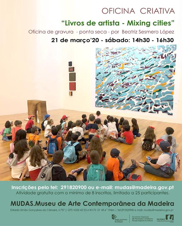 """Livros de artista- mixing cities"