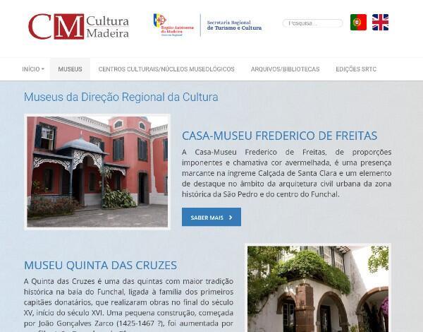 Cultura Madeira é o novo portal criado pelo Governo Regional