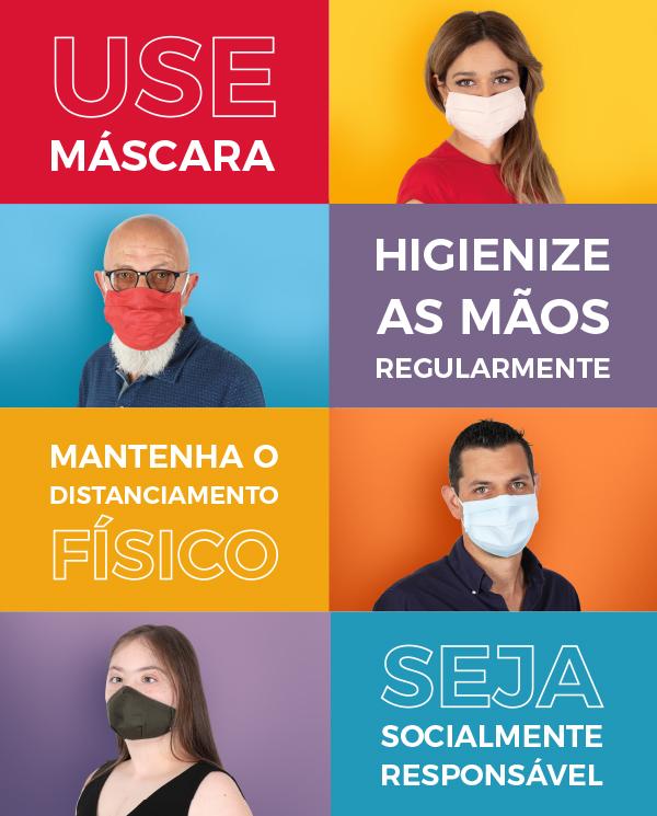 Medidas de controlo da pandemia