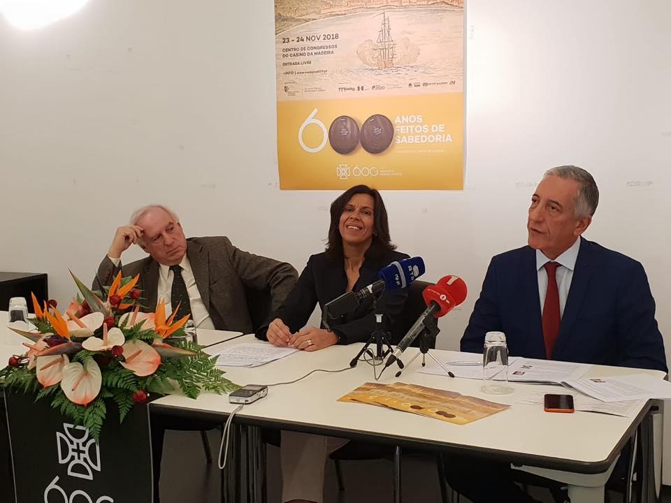 """Madeira acolhe Congresso Internacional """"Contributo da Expansão Portuguesa para a Economia Mundial"""", a 23 e 24 de novembro"""