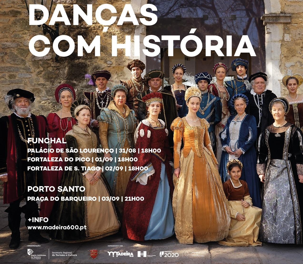 """""""Danças com História"""": Workshops com inscrições abertas"""