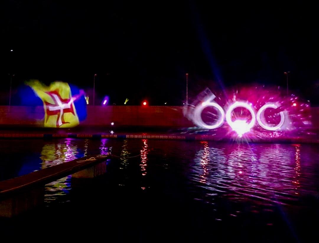 Espetáculo em ecrã de água regressa à Marina do Cais 8